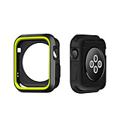 For Apple Watch-veske 38 / 42mm ridsebestandig, fleksibel veske, slank, lett beskyttende støtfanger deksel til Apple Watch Series 1/2