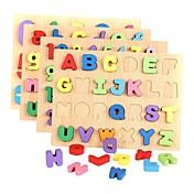 Bloques de Construcción Puzzle Juguetes matemáticos Juguete Educativo Juguetes Rectangular Número Letra Madera Niños Niñas Piezas