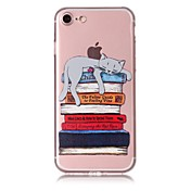 Para iPhone X iPhone 8 Carcasa Funda Diseños Cubierta Trasera Funda Gato Suave TPU para Apple iPhone X iPhone 8 Plus iPhone 8 iPhone 7