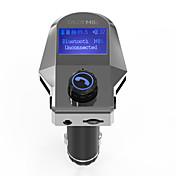 차 M8S V3.0 차량용 블루투스키트 자동차 핸즈프리 FM 송신기 USB 포트 MP3 플레이어