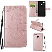 Etui Til Huawei P9 Lite / Huawei / Huawei P8 Lite Lommebok / Kortholder / med stativ Heldekkende etui Annen Hard PU Leather til Huawei P9 Lite / Huawei P8 Lite / Huawei