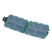Caja de pesca Caja de equipamiento Impermeable El plastico 9.5*6 cm*3