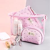 Textil El plastico Óvalo Portátil Casa Organización, 1pc Almacenamiento de Maquillaje Cajas de Joyería