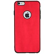 Funda Para Apple iPhone 7 Plus iPhone 7 Antigolpes Funda Trasera Color sólido Suave TPU para iPhone 7 Plus iPhone 7 iPhone 6s Plus iPhone