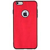 Etui Til Apple iPhone 7 Plus iPhone 7 Støtsikker Bakdeksel Helfarge Myk TPU til iPhone 7 Plus iPhone 7 iPhone 6s Plus iPhone 6s iPhone 6
