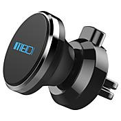 Coche Universal Teléfono Móvil sostenedor del soporte de montaje Rejilla de salida de aire Universal Teléfono Móvil Tipo magnético Metal