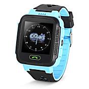 ips a15g niños inteligentes reloj GPS localizador rastreador gsm red 2g datos remoto monitor de comunicación de dos vías para ios o