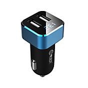 Cargador de Coche Cargador USB del teléfono Universal 2 Puertos USB 3.1A DC 12V-24V Para Teléfono Móvil Para Táblet