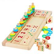 Bloques de Construcción Herramienta de enseñanza Montessori Juguetes matemáticos Juguete Educativo Juguetes Rectangular Manualidades Niño