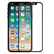 Vidrio Templado Protector de pantalla para Apple iPhone X Protector de Pantalla, Integral Dureza 9H Borde Curvado 2.5D A prueba de