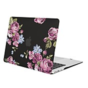 MacBook Funda para MacBook Air 13 Pulgadas MacBook Air 11 Pulgadas MacBook Pro 13 Pulgadas con Pantalla Retina Flor TPU Material