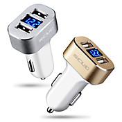 Cargador de Coche Cargador USB del teléfono Universal Carga Rápida 2 Puertos USB 3A DC 12V-24V Para Teléfono Móvil Para Táblet