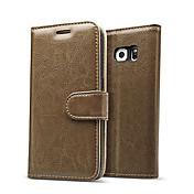삼성 갤럭시 S7 / S7 에지 고급 정품 가죽 플립 카드 지갑 케이스 커버