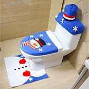al azar, feliz, navidad, feliz, nuevo, año, mejor, navidad, regalo&alfombra de baño