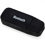Adaptador de audio Bluetooth receptor de 3,5 mm de música sin hilos del bluetooth