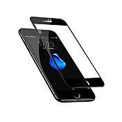 Protector de pantalla Apple para iPhone 8 Plus Vidrio Templado 1 pieza Protector de Pantalla Frontal Borde Curvado 3D Anti-Huellas