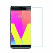 Protector de pantalla LG para LG V20 Vidrio Templado 1 pieza Protector de Pantalla Frontal Anti-Arañazos Borde Curvado 2.5D Dureza 9H