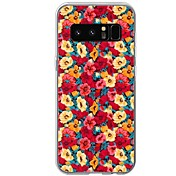 Etui Til Samsung Galaxy Mønster Bakdeksel Blomsternål i krystall Myk TPU til Note 8 Note 5 Edge Note 5 Note 4 Note 3 Lite Note 3 Note 2