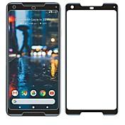 Protector de pantalla Google para Pixel 2 XL Vidrio Templado 1 pieza Protector de Pantalla Frontal Borde Curvado 3D Anti-Arañazos Dureza