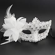 Princesas Cuento de Hadas Máscara Unisex Halloween Carnaval Año Nuevo Festival/Celebración Disfraces de Halloween Rosado Negro Blanco