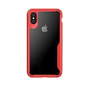 Etui Til Apple iPhone X iPhone X Støtsikker Bakdeksel Gjennomsiktig Hard TPU til iPhone X