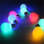 Cuerdas de Luces 20 LED Blanco Cálido Multicolor Simple Batería