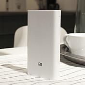 original xiaomi mi 20000mah 2c mobil strøm bank hurtigladet batteri bærbar lader