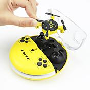 RC Drone FQ777 FQ04 4 Kanal 6 Akse 2.4G Med HD-kamera 0.3MP 0.3 Fjernstyrt quadkopter LED Lys Hodeløs Modus Fjernstyrt Quadkopter