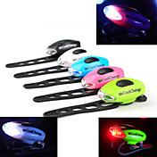 Sykkellykter sikkerhet lys Baklys til sykkel sykkel glødelamper LED - Sykling Advarsel Enkel å bære CR2032 50-70 Lumens Batteri Sykling -