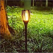 방수 야외 조명 불꽃 효과 정원 빛
