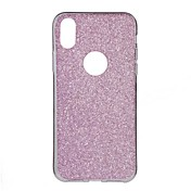 Funda Para Apple iPhone X iPhone 8 iPhone 6 iPhone 6 Plus Líquido Diseños Funda Trasera Color sólido Suave TPU para iPhone X iPhone 8