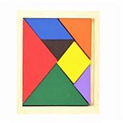 Tangram Puzzles de Madera Juguetes Forma Geométrica Familia Escuela/Graduación Colegio Clásico Piezas