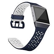 Klokkerem til Fitbit ionic Fitbit Sportsrem Klassisk spenne Silikon Håndleddsrem