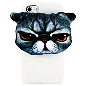 Etui Til Apple iPhone 6 iPhone 6 Plus iPhone 7 Plus iPhone 7 Myk Bakdeksel Katt Hard PC til iPhone 7 Plus iPhone 7 iPhone 6s Plus iPhone