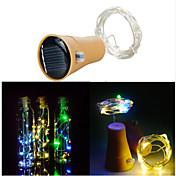10 LED 1M LED Strip Light Varm hvit Kjølig hvit Dekorativ <5V