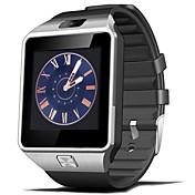 dz09 impermeable reloj inteligente anti-perdida monitor relojes con cámara / facebook llamada / música vidio playger
