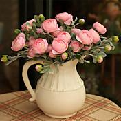 1 Gren Andre Roser Bordblomst Kunstige blomster