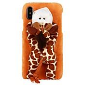 Funda Para Apple iPhone X iPhone 8 iPhone 8 Plus iPhone 6 iPhone 6 Plus iPhone 7 Plus iPhone 7 Blando Manualidades Funda Trasera Dibujo