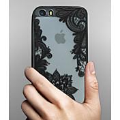 Funda Para Apple iPhone X iPhone 8 Funda iPhone 5 iPhone 6 iPhone 6 Plus Transparente Diseños Funda Trasera Impresión de encaje Dura