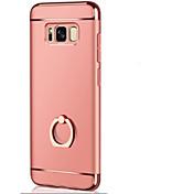 Etui Til Samsung Galaxy S8 Plus / S8 Ringholder / Ultratynn / Origami Bakdeksel Ensfarget Hard PC til S8 Plus / S8 / S7 edge