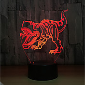 1set LED Night Light Trykk 7-Color USB-ladet Berør sensoren