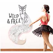 Dekorative Mur Klistermærker - Animal Wall Stickers Abstrakt / Dyr Barnerom / Spillerom