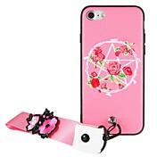 Etui Til Apple iPhone 6 iPhone 7 Mønster GDS Bakdeksel Blomsternål i krystall Hard PC til iPhone 7 Plus iPhone 7 iPhone 6s Plus iPhone 6s