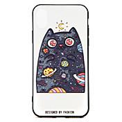 Etui Til Apple iPhone X iPhone 8 Mønster Bakdeksel Tegneserie Dyr Hard PU Leather til iPhone X iPhone 8 Plus iPhone 8 iPhone 7 Plus