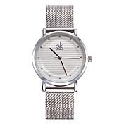 SK Mujer Reloj creativo único Reloj Pulsera Reloj de Vestir Reloj de Moda Chino Cuarzo Resistente al Agua Resistente a los Golpes Metal
