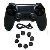 for PS4 Kits de controlador de juego Para PS4 ,  Empuñadura de Juego Kits de controlador de juego Silicona / ABS 1 pcs unidad