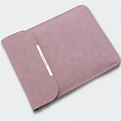 Mangas Un Color Cuero de PU para MacBook Air 13 Pulgadas / MacBook Pro 13 Pulgadas