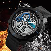 SKMEI Hombre Digital Reloj de Vestir Reloj de Moda Reloj Casual Chino Calendario Cronógrafo Resistente al Agua Noctilucente Cronómetro PU