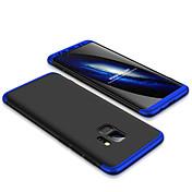 Etui Til Samsung Galaxy S9 S9 Plus Støtsikker Matt Bakdeksel Ensfarget Hard PC til S9 Plus S9 S8 Plus S8 S7 edge S7