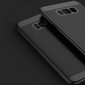 Etui Til Samsung Galaxy S8 Plus S8 Ultratynn Bakdeksel Helfarge Hard PC til S8 Plus S8 S7 edge S7 S6 edge plus S6 edge